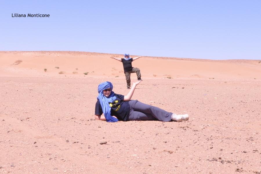 marocco deserto del sahara accampamento tendato foto senza prospettiva