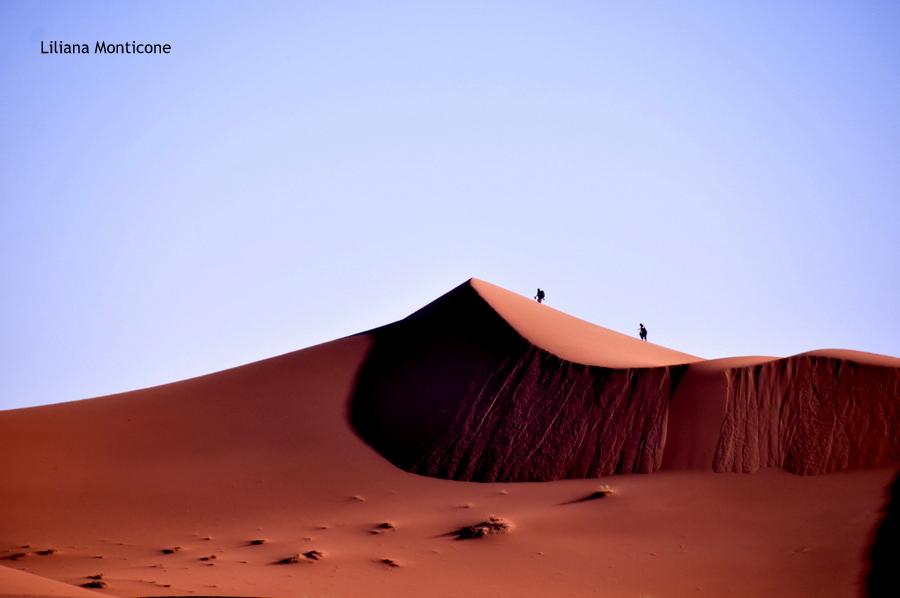 deserto del sahara dune di sabbia