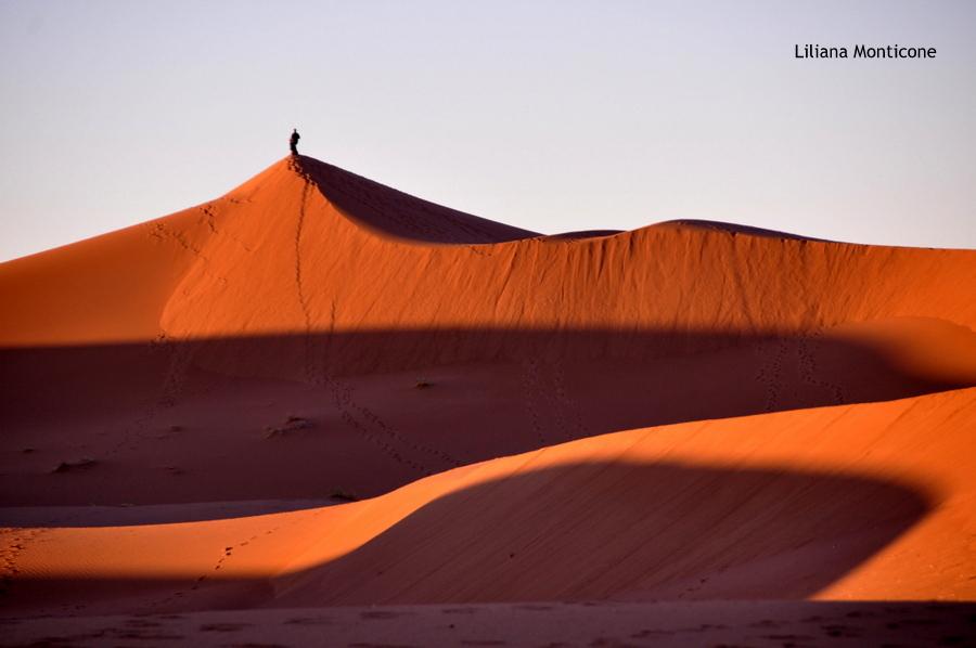 dune di sabbia deserto del sahara
