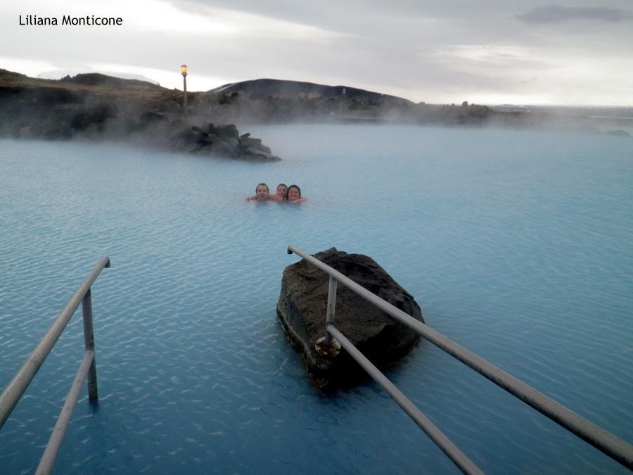 Laguna Blu del Nord in Islanda Myvatn divertimento tutto l'anno