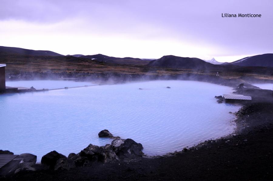 Laguna Blu del Nord in Islanda Myvatn relax pozze calde