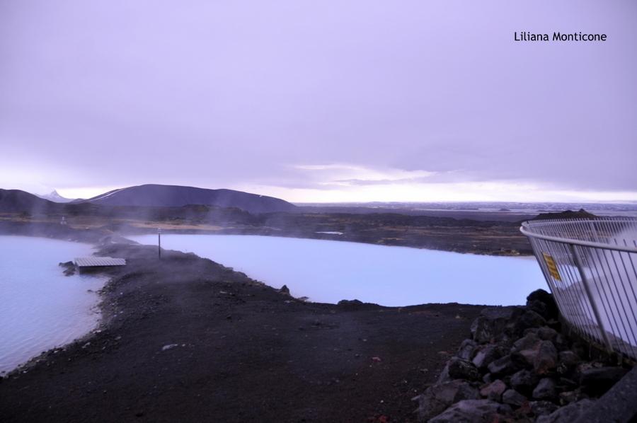 Laguna Blu del Nord in Islanda Myvatn relax la laguna è tutta nostra