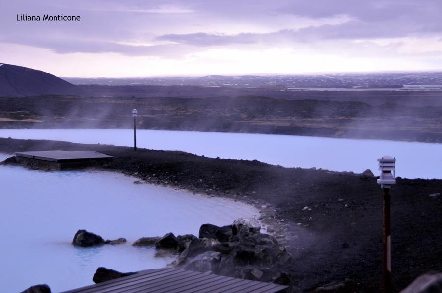 Laguna Blu del Nord in Islanda Myvatn caldo relax idromassaggio