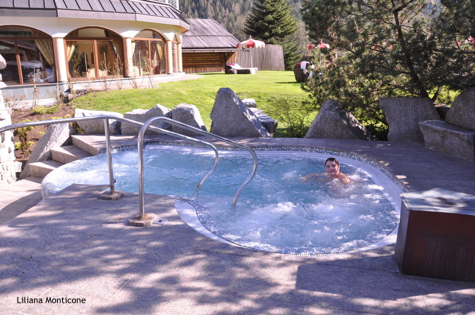 Hotel da sogno Jagdhof in Austria centro benessere piscina