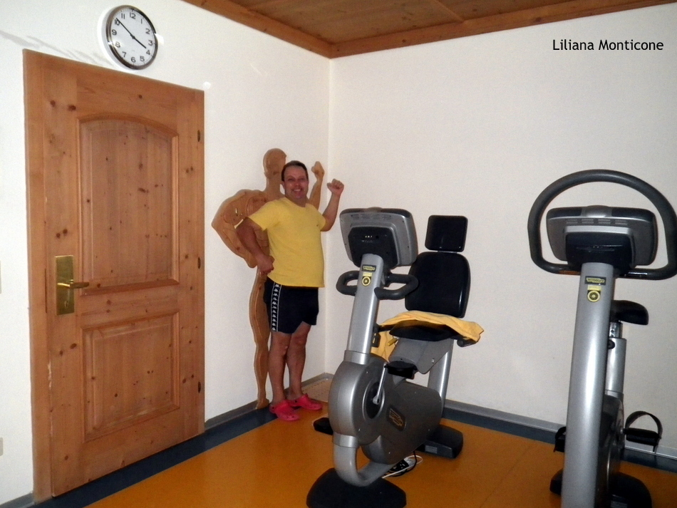 Hotel da sogno Jagdhof in Austria palestra