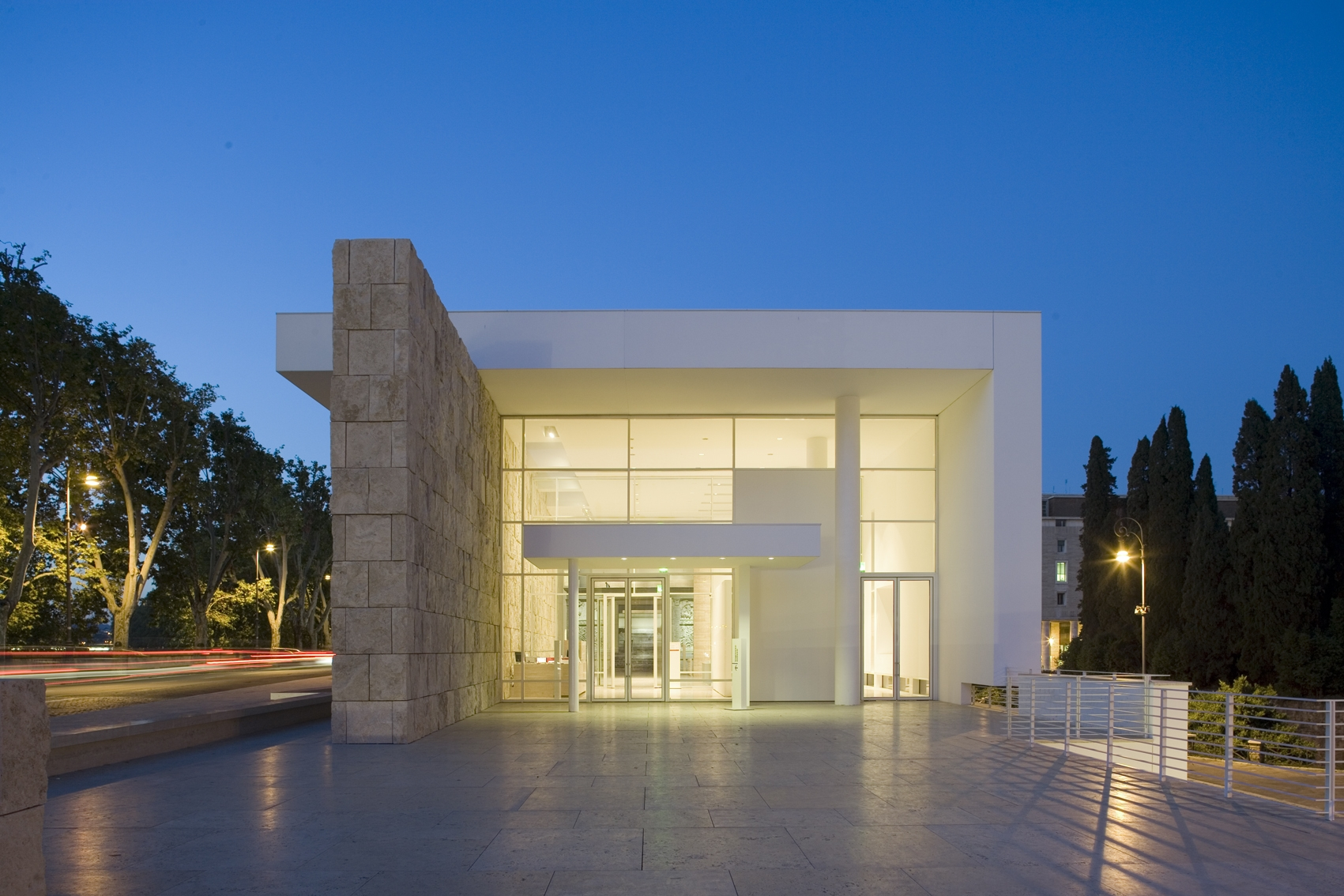Richard meier 50 anni di architettura alla fondazione for Richard meier architetto