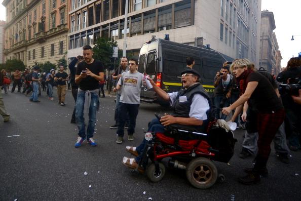 Manifestazione Roma 19 Ottobre Capitale Blindata Per I Cortei