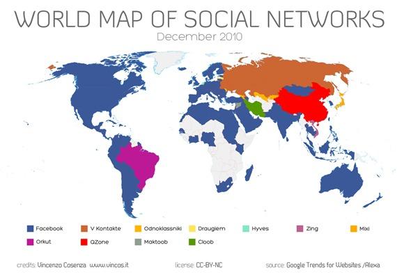 mappa social network