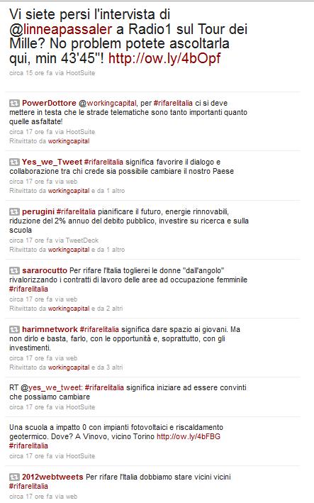 working capital 2011 - profilo twitter