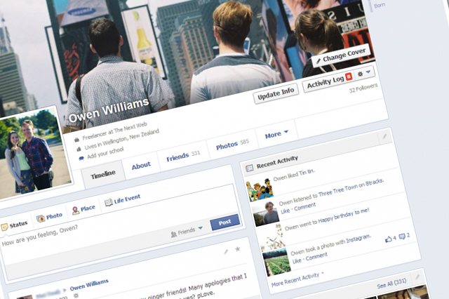 Facebook, ecco la nuova TimeLine, presto anche in Italia