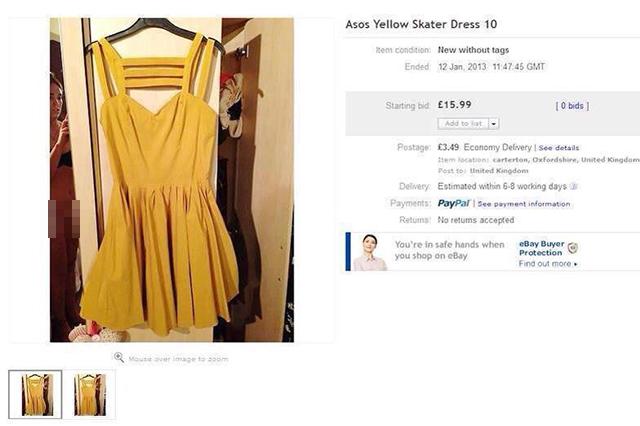 Nuda per errore su eBay, la foto diventa un must della rete
