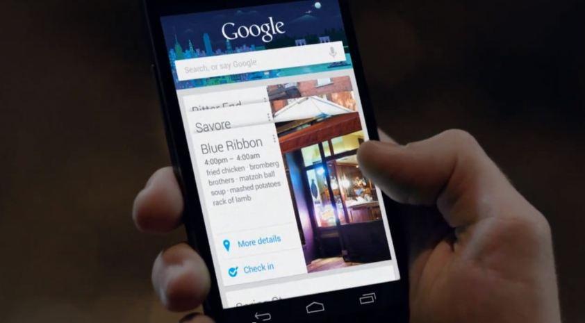 Google Now, in arrivo anche su Chrome