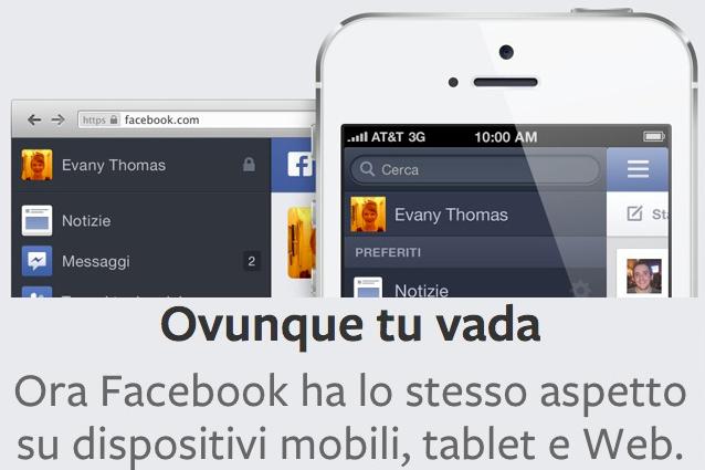 Ecco come sarà il nuovo Facebook, dite addio alla confusione!