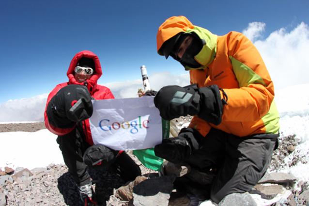 Google Street View scala le sette vette più alte del mondo [Foto e Video]