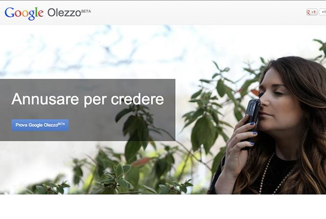 Google presenta Olezzo e Gmail Blue per il suo Pesce d' Aprile