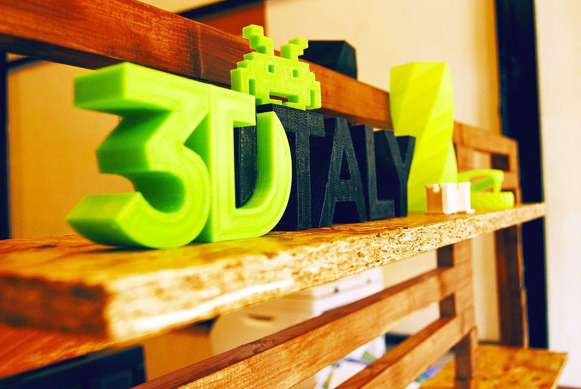 3DItaly, a Roma il primo store interamente dedicato alla stampa tridimensionale