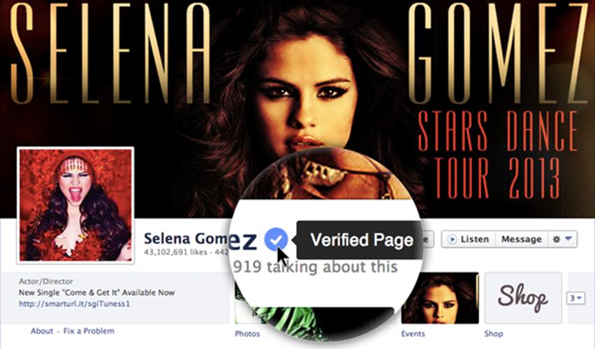 Anche Facebook introduce i profili verificati come Twitter