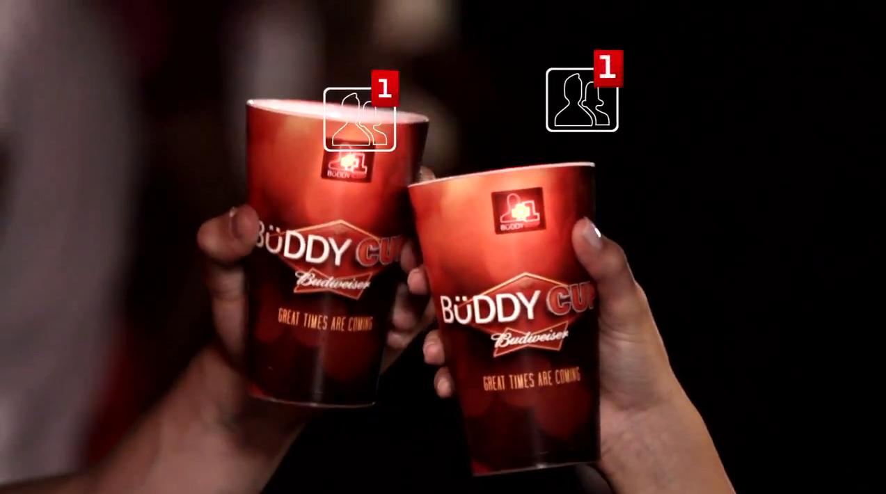 Buddy Cup, il bicchiere da birra sempre connesso con Facebook [VIDEO]