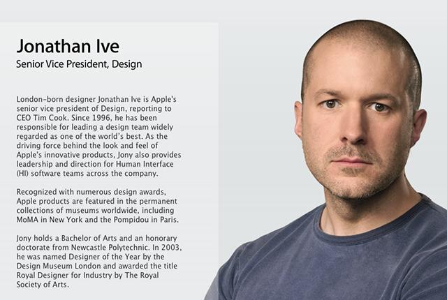 Apple modifica il ruolo di Jony Ive a seguito della presentazione di iOS 7