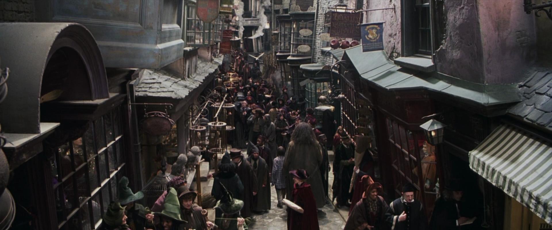 Il mondo di Harry Potter appare su Google Street View