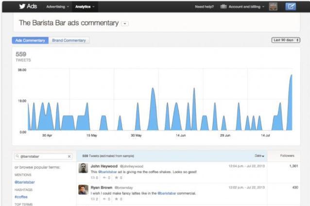Il TV advertising continua su Twitter: il servizio è ora disponibile