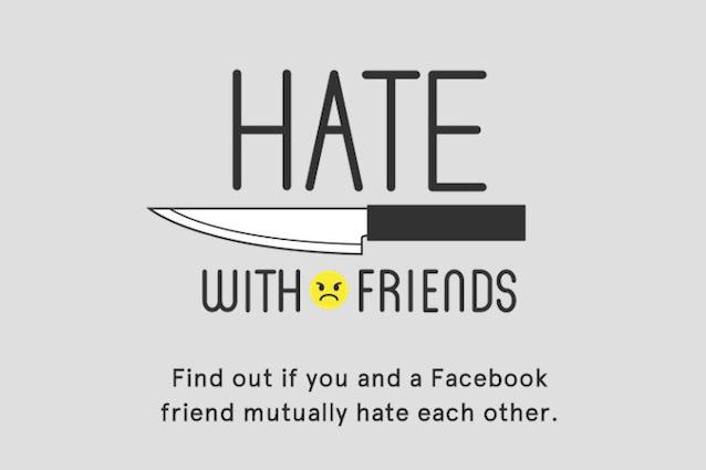 Hate with friends, arriva l'app che svela chi vi odia