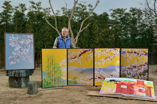 A 73 anni crea fantastici dipinti con Excel