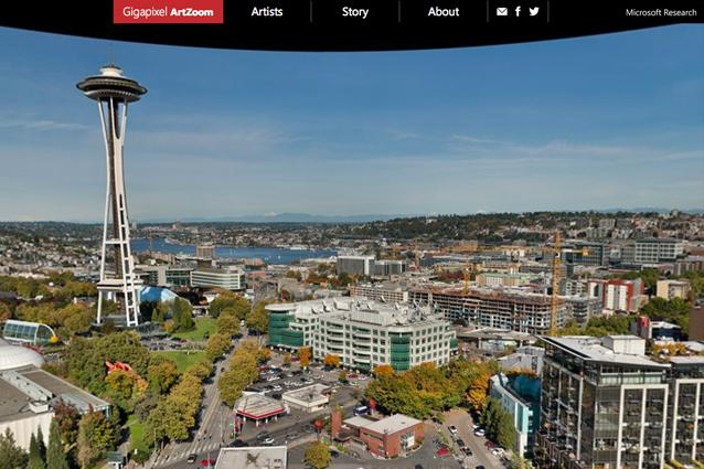 Microsoft ArtZoom, il panorama da 20 gigapixel che immortala Seattle ed i suoi artisti [VIDEO]
