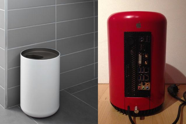Mac Pro, l'hackintosh realizzato con un cesto per la spazzatura [FOTO]