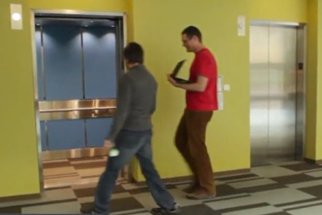 Microsoft a lavoro sull'ascensore intelligente [VIDEO]