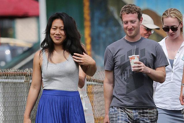 Mark Zuckerberg è il più generoso della Silicon Valley