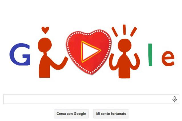 Google festeggia San Valentino con un nuovo doodle, ma non in Italia [AGGIORNATO]
