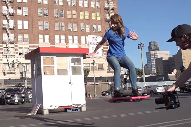 HUVr, lo skate antigravitazionale di Ritorno al Futuro 2 è reale [VIDEO]