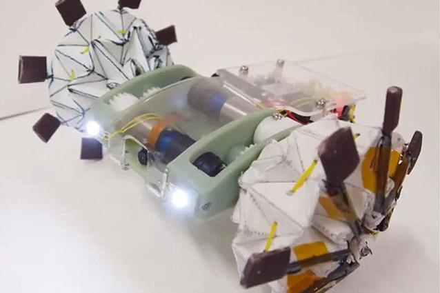 Origami, il robot che si adatta in base alle esigenze [VIDEO]