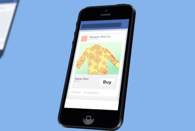 """Facebook testa il pulsante """"Compra"""" per scoprire e acquistare nuovi prodotti sul social network"""