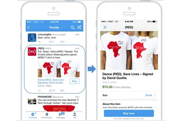 """Twitter: arriva il tasto """"Compra ora"""", ma solo per pochi utenti [VIDEO]"""