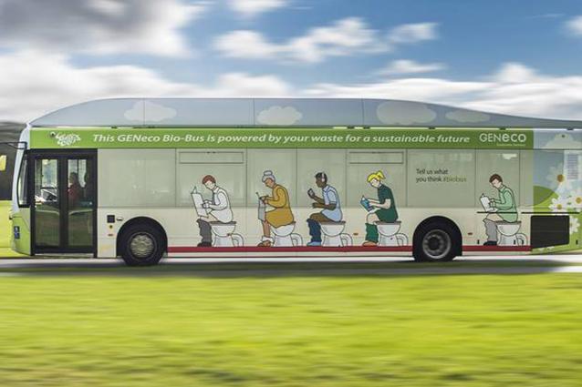 Bristol, il primo bio-bus alimentato da escrementi e scarti alimentari
