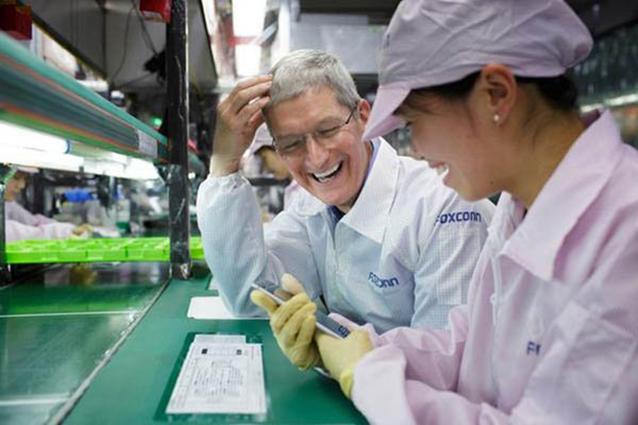 Foxconn costruirà un nuovo stabilimento esclusivo per i display Apple