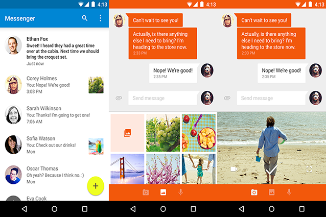 Google Messenger disponibile per il download da Google Play Store