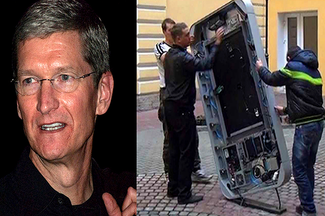 Tim Cook gay: monumento a Steve Jobs rimosso in Russia