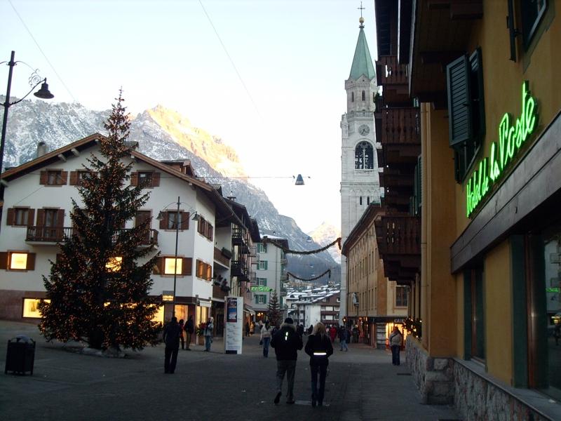 Settimana bianca a Cortina d'Ampezzo: più economica del 2009
