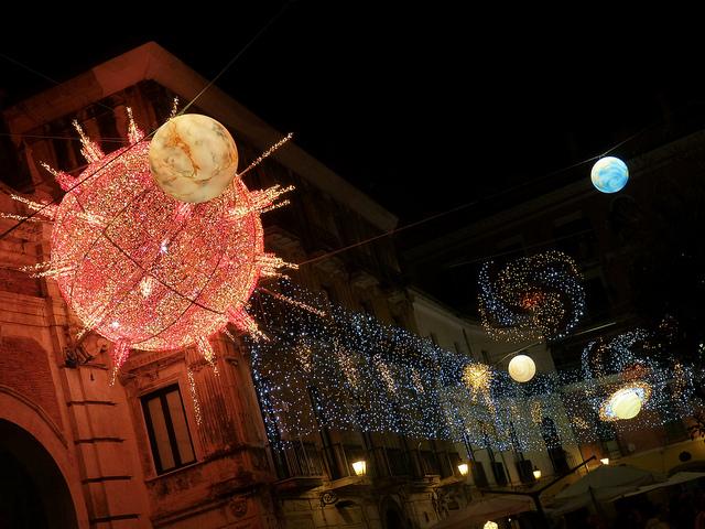 Luci d'Artista, Salerno si illumina per il Natale 2012
