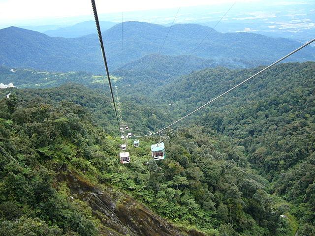 funivie Genting_Highland_Malaysia