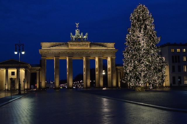 alberi di Natale berlino