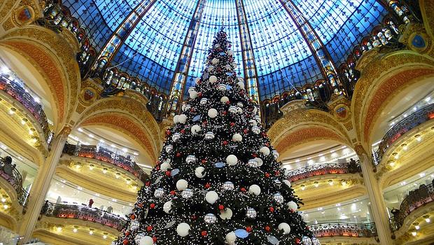alberi di natale parigi