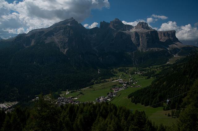 Val Badia in estate