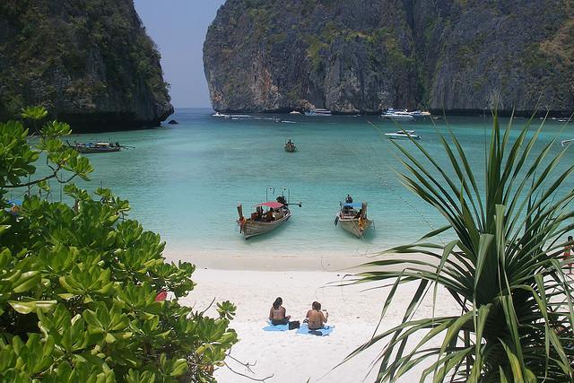 Maya Bay spiaggia