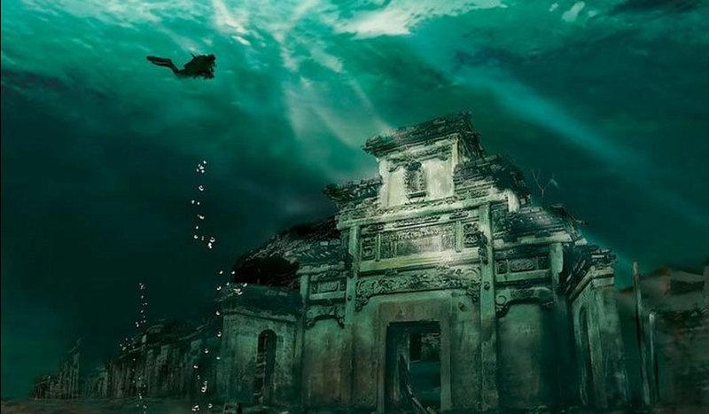 L'antica città sommersa di Shi Cheng: alla scoperta dell'Atlantide cinese