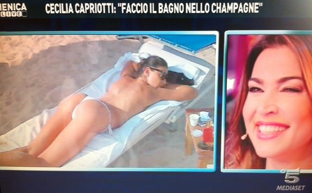 nackt Capriotti Cecilia Playboy Cybergirl