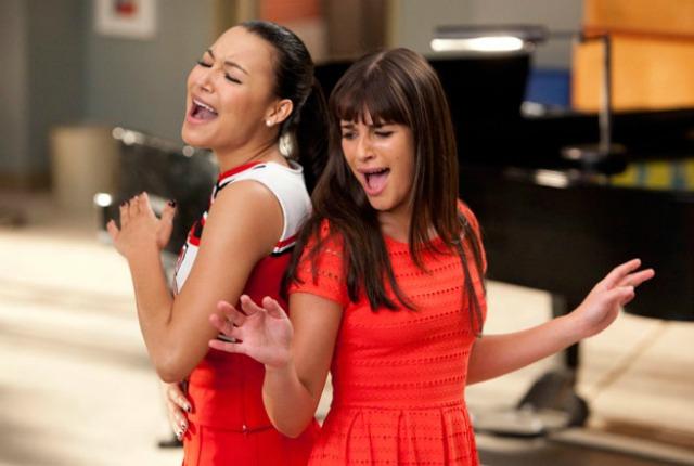 """Lea Michele e Naya Rivera litigano sul set di """"Glee"""""""